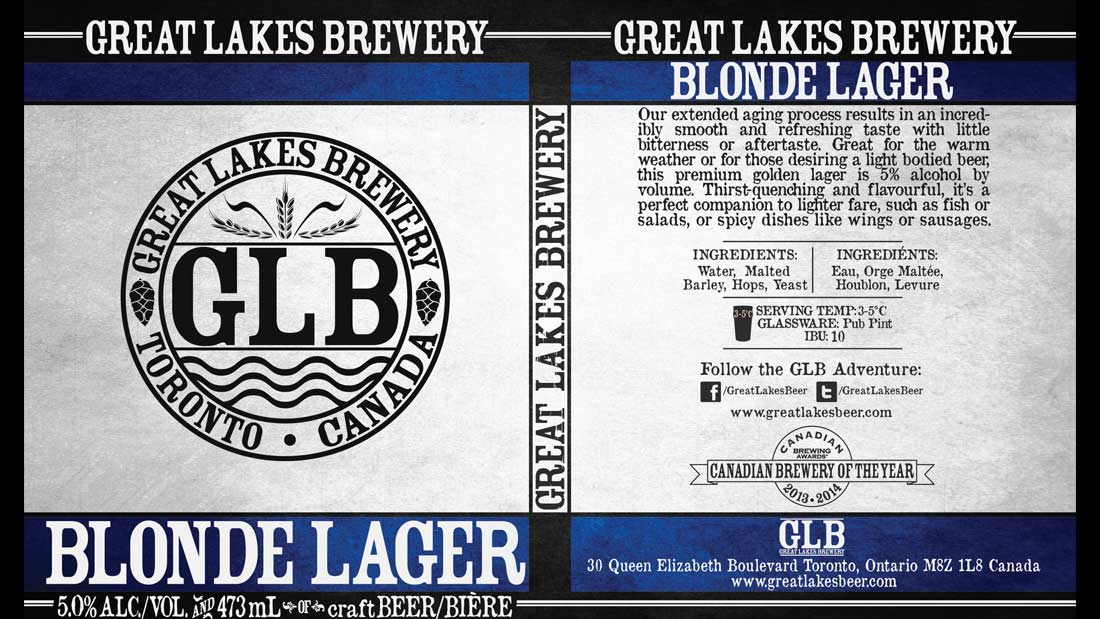 Great lakes brewery blonde lager blonde lager sciox Image collections